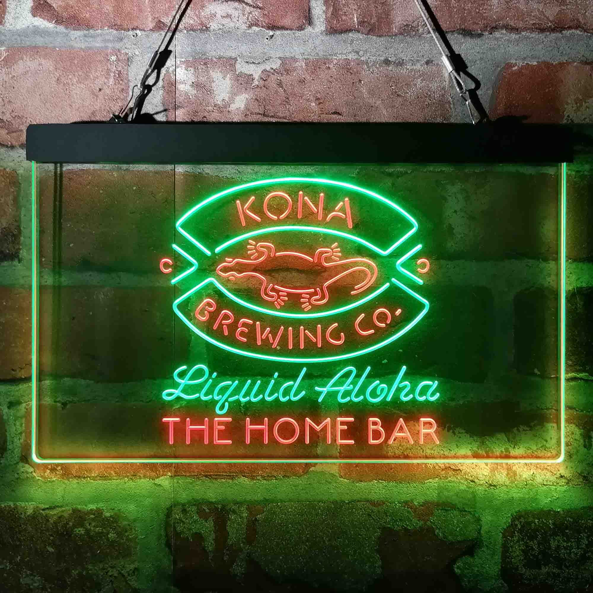 Custom Kona Brewing Company Neon-Like LED Sign