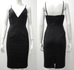 Leah black pencil dress
