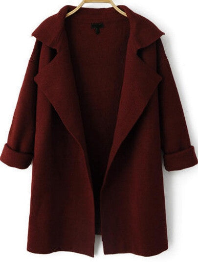 Scarlett Deep Red Jacket