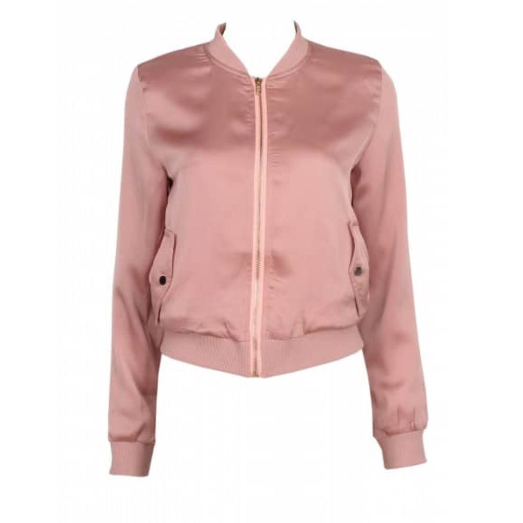 Saph blush bomber jacket