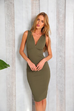 Miami Khaki Dress