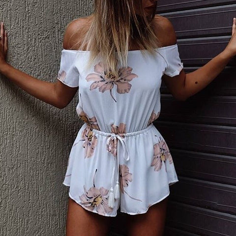 Snoop Off The Shoulder Playsuit