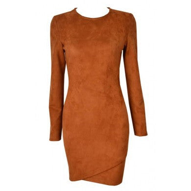 Jen burnt orange dress