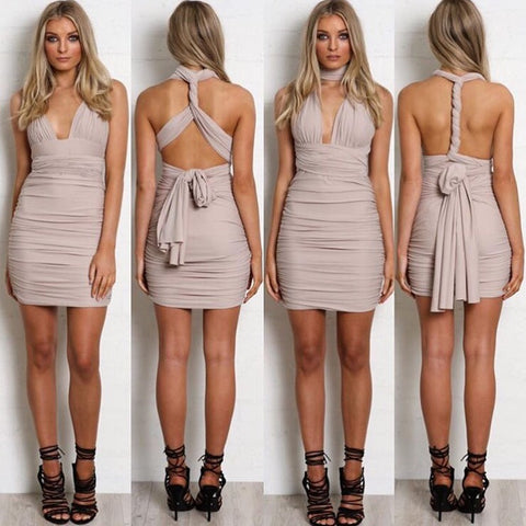 Anything goes nude dress
