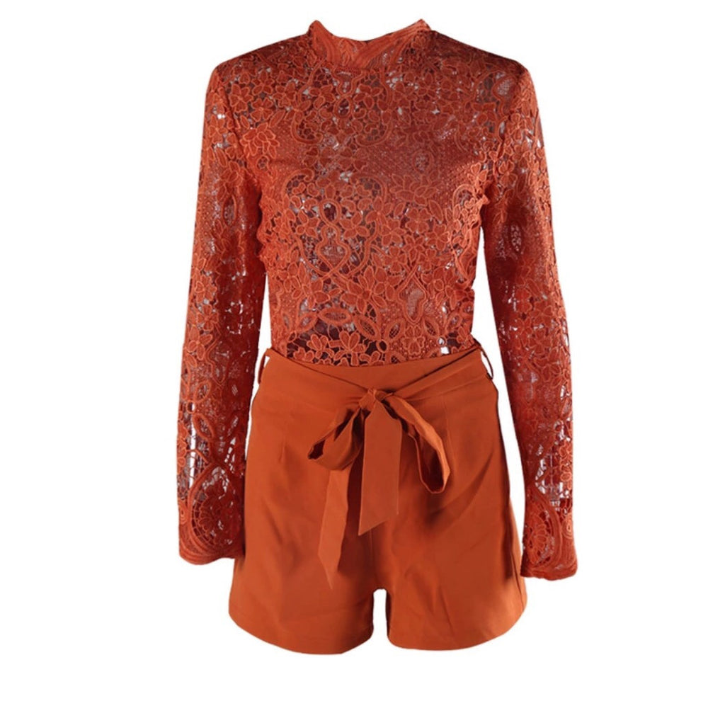Alis rust playsuit