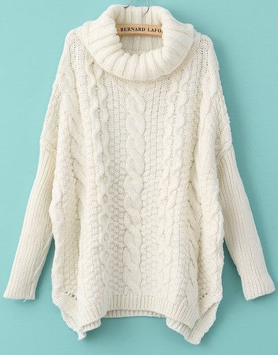 Top Of The Peak High Neck Knit Jumper