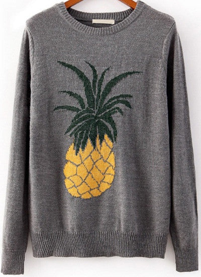 The Fruits Grey Jumper