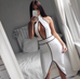 Jermaine white dress