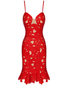 Louca red dress