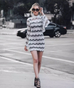 Bouchard long sleeve dress