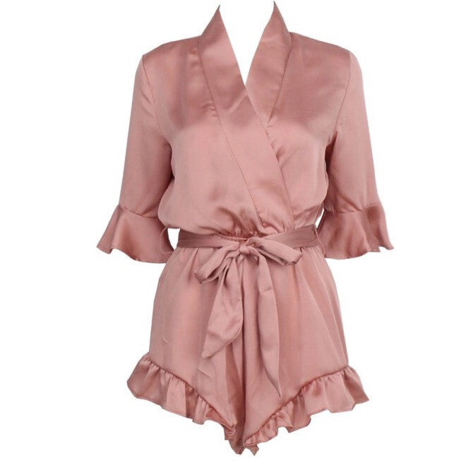 Tilly blush playsuit