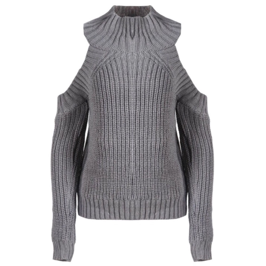 Avenue grey knit jumper