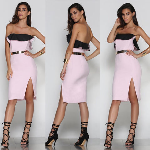 Lucy strapless dress
