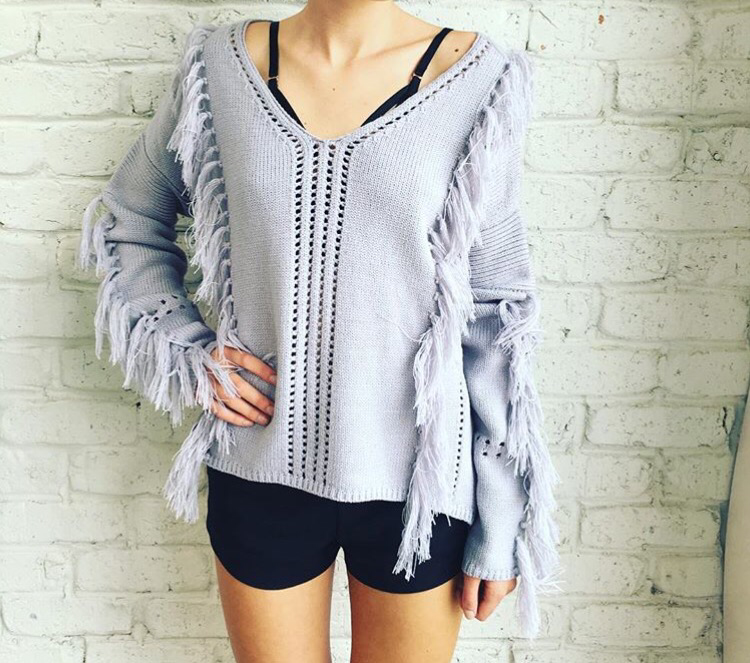 Georgia Grey Knit