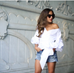 Florence white blouse