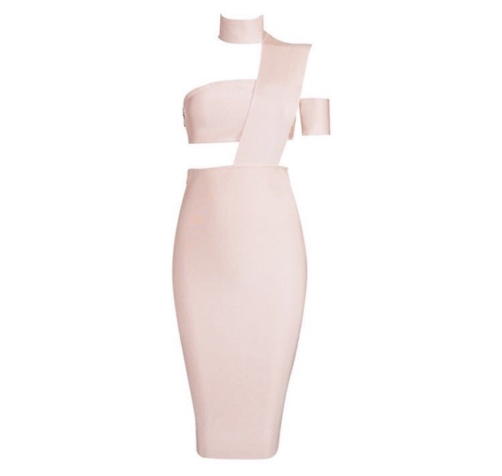 Franka blush dress