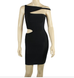 Marissa Black Cut Out Bandage Dress