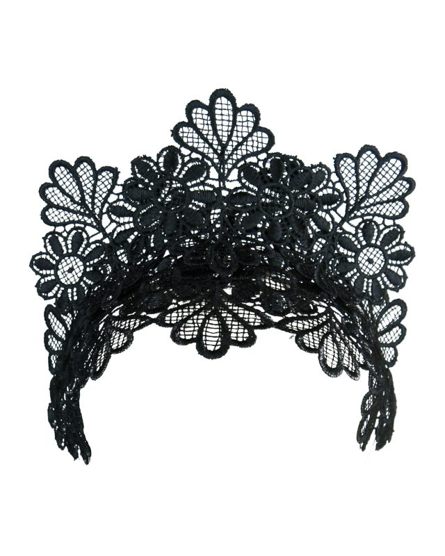 Cyrus Black Lace Fascinator