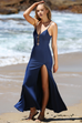 Juniper Navy Maxi Dress