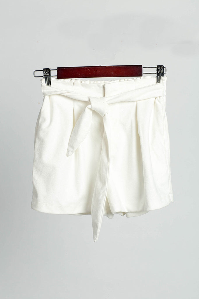 Teesh white shorts
