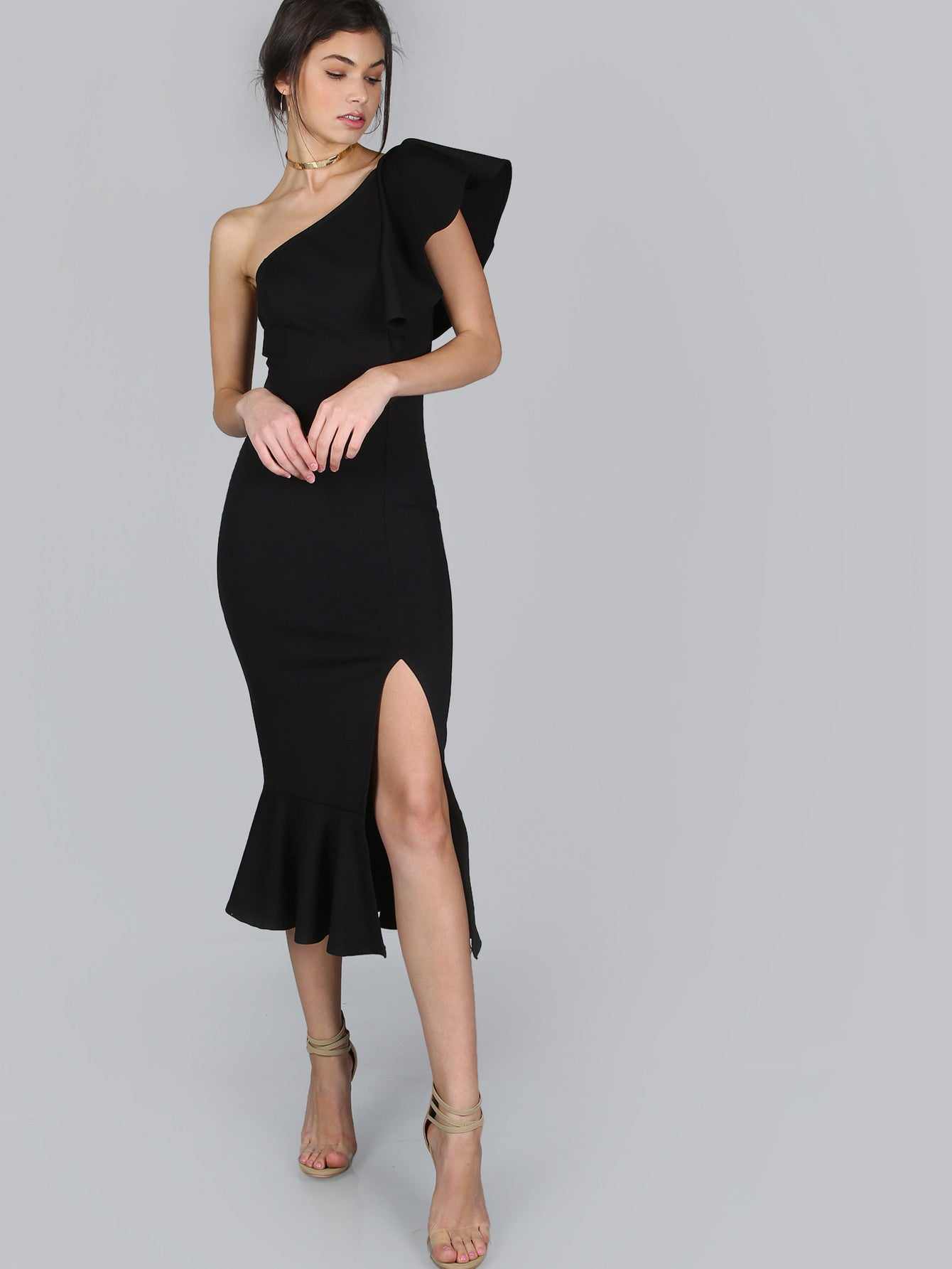 38ea87d171b5 Jade black one shoulder dress – Love Storey Boutique