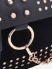 Rosie Black Studded Bag