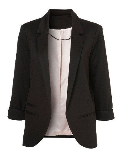 Let's Get Down To Business Black Boyfriend Blazer