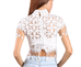 Teresa white short sleeve top