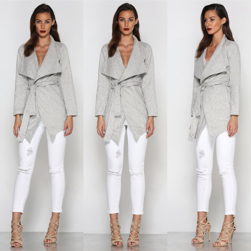 Axis grey coat