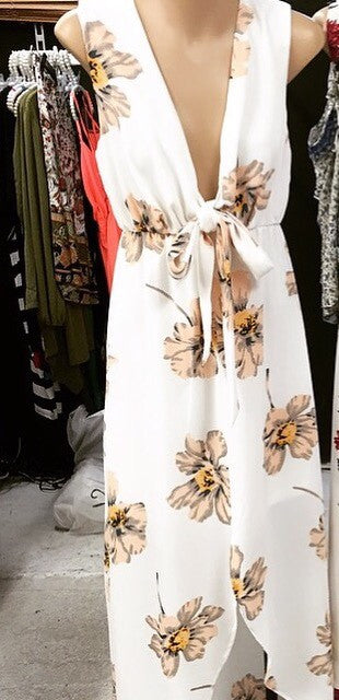 Snoop floral long dress