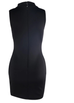 Reem black sleeveless dress