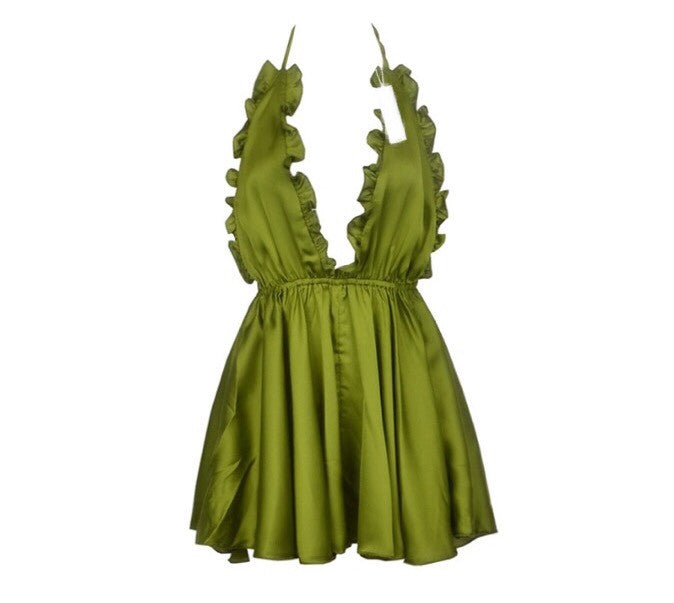 North green playsuit