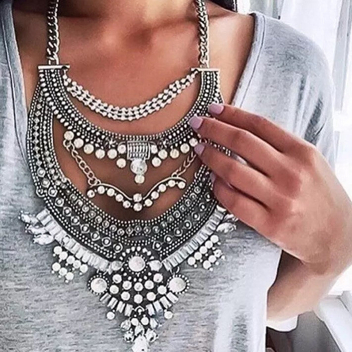 Marta silver necklace