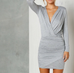 Stephanie grey dress
