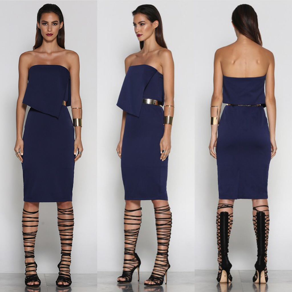 Eclipse navy dress