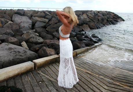 Hopeless Romantic Lace Maxi Skirt