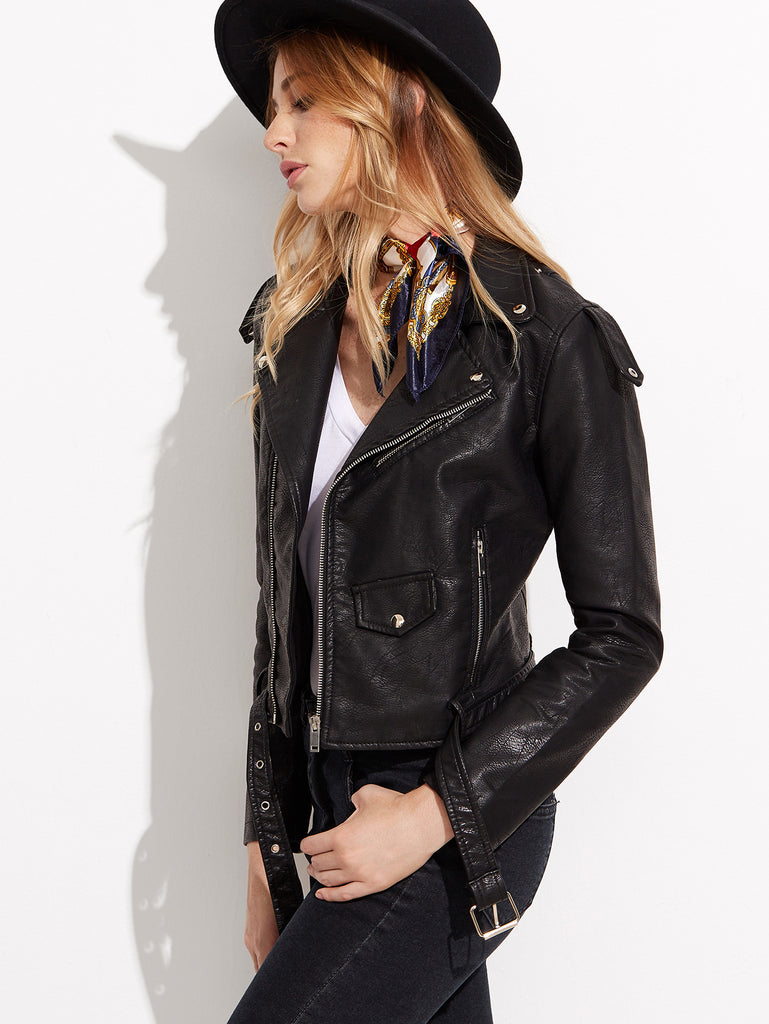 Looking For You Leather Jacket