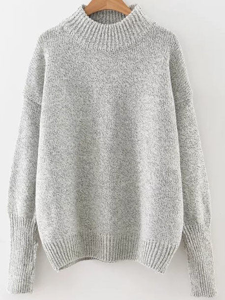 Viktoria Grey Knit