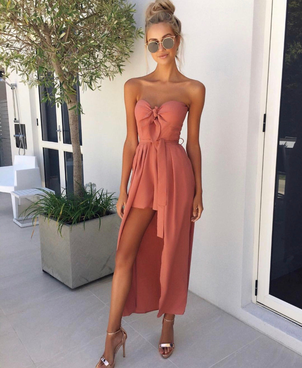 Demi maxi playsuit