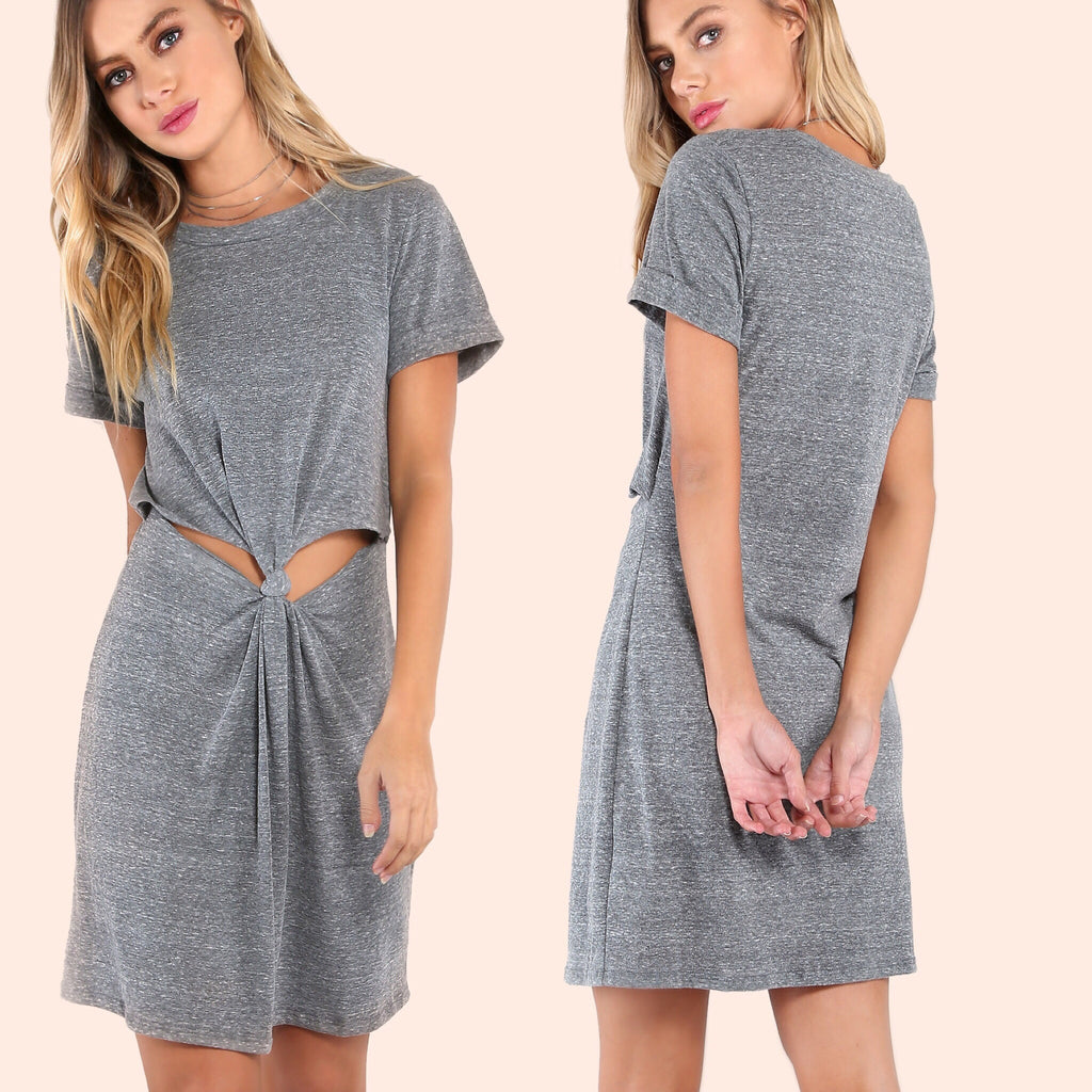 Penny grey dress