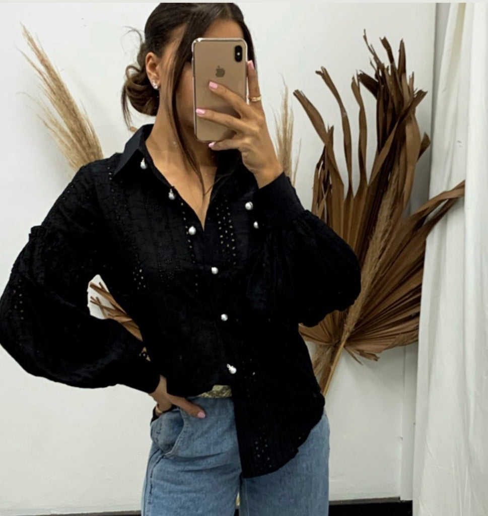 Dreaming black blouse