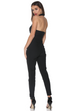 Bridget black blazer jumpsuit