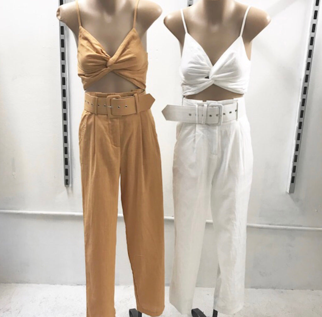 Kelly top and pant set