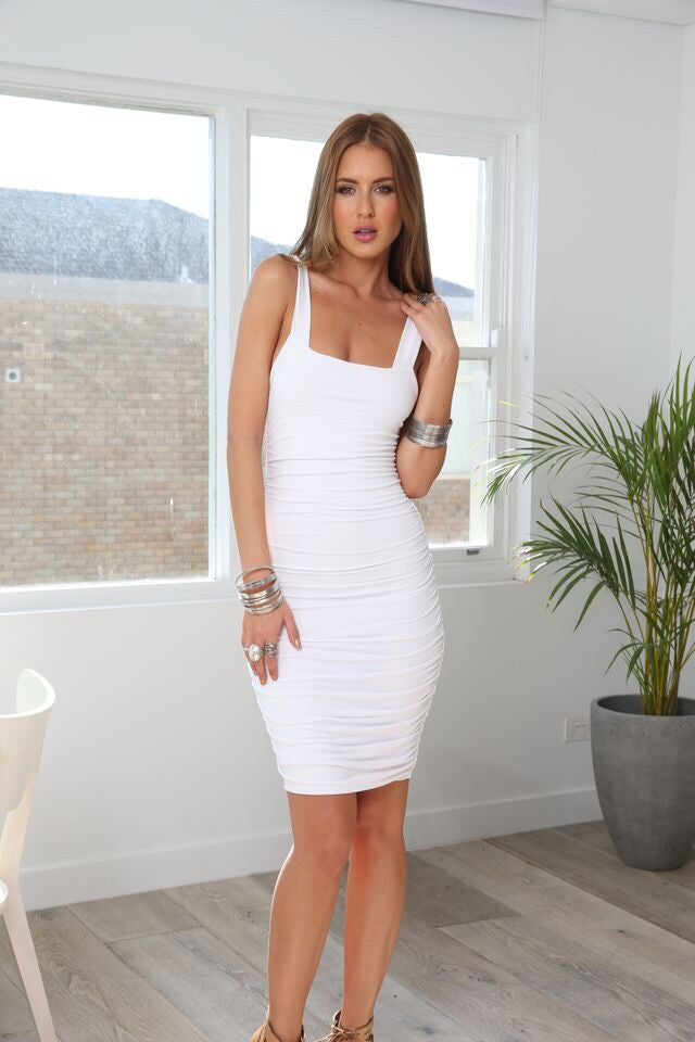 Priscilla White Dress