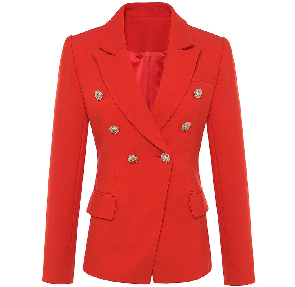 Alia red blazer