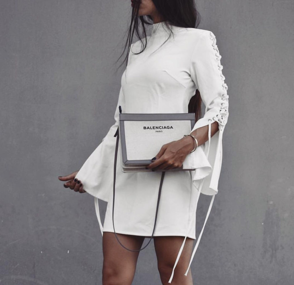 Bandy white dress