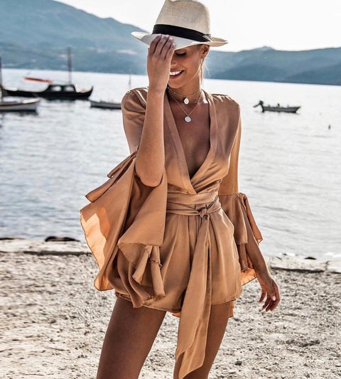 Lover bronze Playsuit