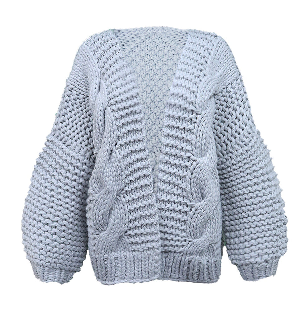 Camilla Grey knit cardigan