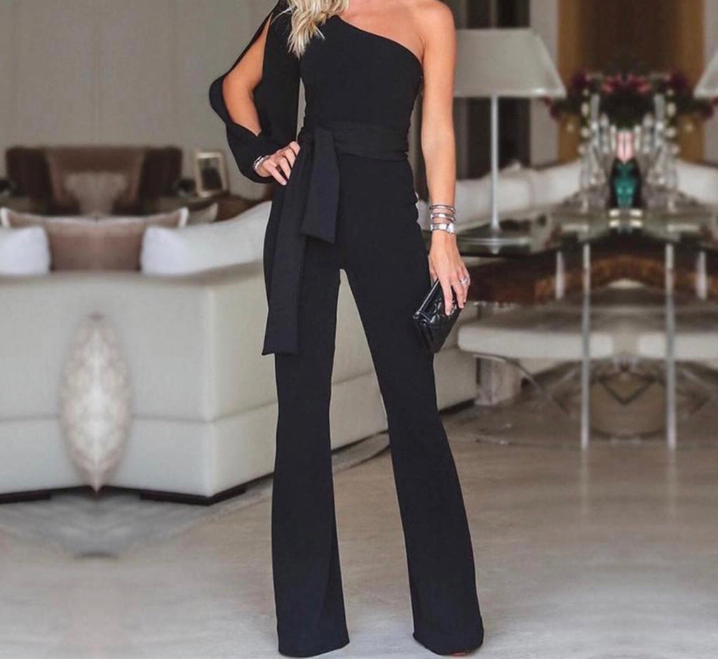 Jenna black jumpsuit