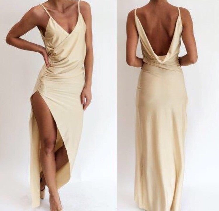 Jupiter split maxi dress